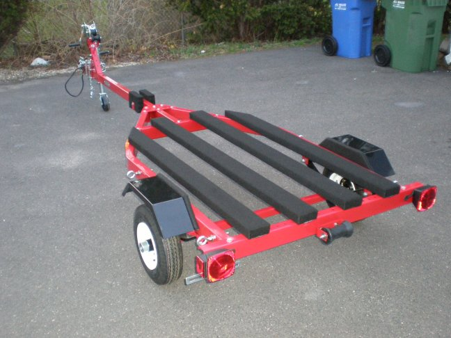 how to build a jon boat trailer